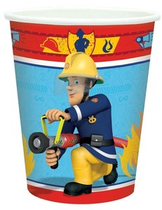 Brandweerman Sam party bekers