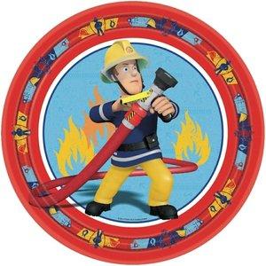 Brandweerman Sam party bordjes
