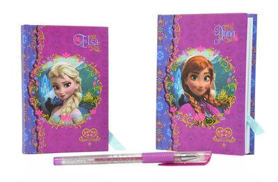 Disney Frozen notitieboek geschenkset met glitter pen