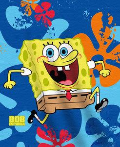 Spongebob fleece deken