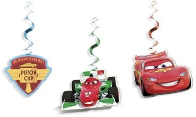 Disney Cars plafond swirl decoratie Ice