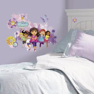 Dora Explorer and Friends XL muursticker