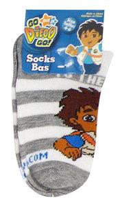 Diego sneaker sokken grijs gestreept