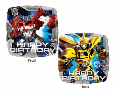 Transformers Happy Birthday foil ballon