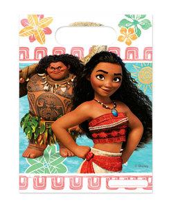 Disney Vaiana uitdeelzakjes met leuke print van Vaiana en de grappige halfgod Maui