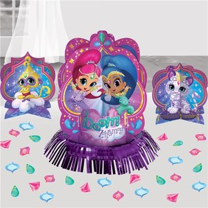 Shimmer and Shine tafel decoratie set