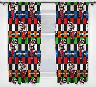 Super Mario gordijnen ✪ Kant-en-klaar ✪ 183cm lang!