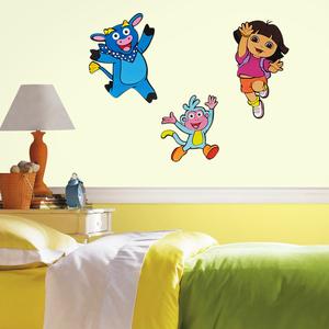 Dora Explorer foam wanddecoratie 3-delig voorbeeld