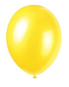 Ballonnen 30 centimeter unikleur geel