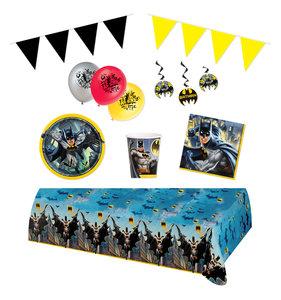 Batman feestpakket Deluxe - Pakket voor 8 personen