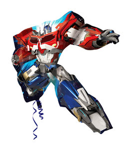 Transformers folie ballon Optimus Prime shape