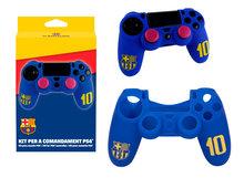 FC Barcelona beschermhoes voor PS4 controller