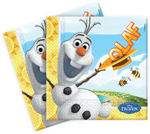 Disney Frozen Olaf servetten