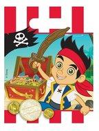 Disney Jake en de nooitgedachtland piraten uitdeelzakjes