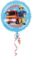 Brandweerman Sam Brave Happy Birthday foil ballon