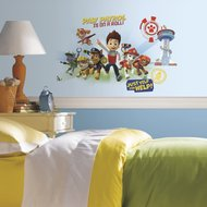 Paw Patrol XL wanddecoratie muursticker