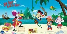 Disney Jake en de Nooitgedachtland piraten verjaardagsbanner