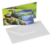 Teenage Mutant Ninja Turtles uitnodigingen