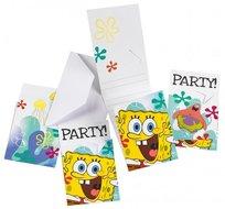 Spongebob uitnodigingen