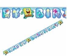 Spongebob HAPPY BIRTHDAY slinger