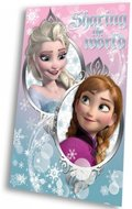 Disney Frozen fleece deken Sharing the World
