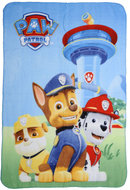 Paw Patrol fleece deken met Chase Rubble en Marshall