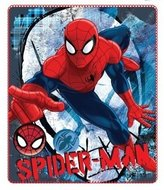 Spiderman fleece deken White Mask