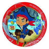 Disney Jake en de Nooitgedachtland piraten party bordjes Captain