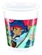 Disney Jake en de Nooitgedachtland piraten party bekers Captain