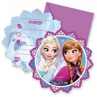 Disney Frozen uitnodigingen Noorderlicht