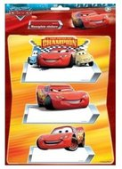 Disney Cars naambord set