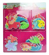 Disney Princess Ariel 24-delig foam behangrand set