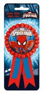 Spiderman verjaardag belonings button