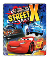 Disney Cars fleece deken Street X