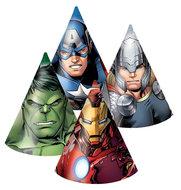 The Avengers Assemble feest hoedjes 16cm groot