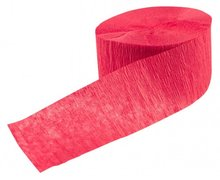 papieren crepe slinger rood