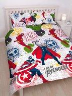 Avengers dekbedovertrek 200x200cm