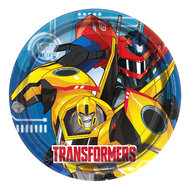 Transformers party bordjes