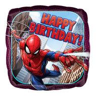 Spiderman folie ballon Happy Birthday
