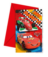Disney Cars uitnodigingen
