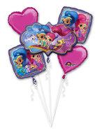 Shimmer and Shine folie ballonnen set