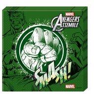 De Hulk servetten