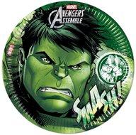 Hulk party bordjes