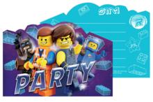 Lego Movie uitnodigingen
