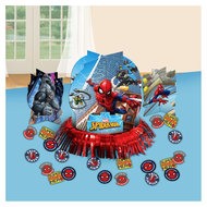 Spiderman tafel decoratie set
