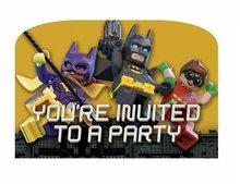 Lego Batman uitnodigingen