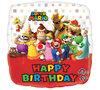Super Mario foil ballon Happy Birtday