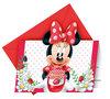 Disney Minnie Mouse uitnodigingen Jam