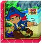Disney Jake en de Nooitgedachtland piraten servetten Captain