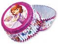 Sofia het Prinsesje cupcake vormpjes